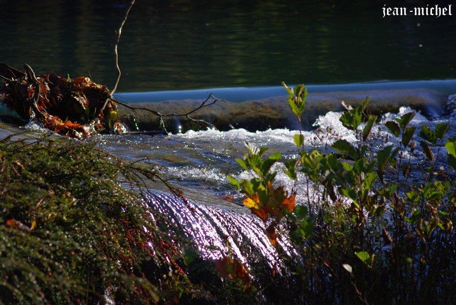 Rivière dans Montagne parc-de-vizille
