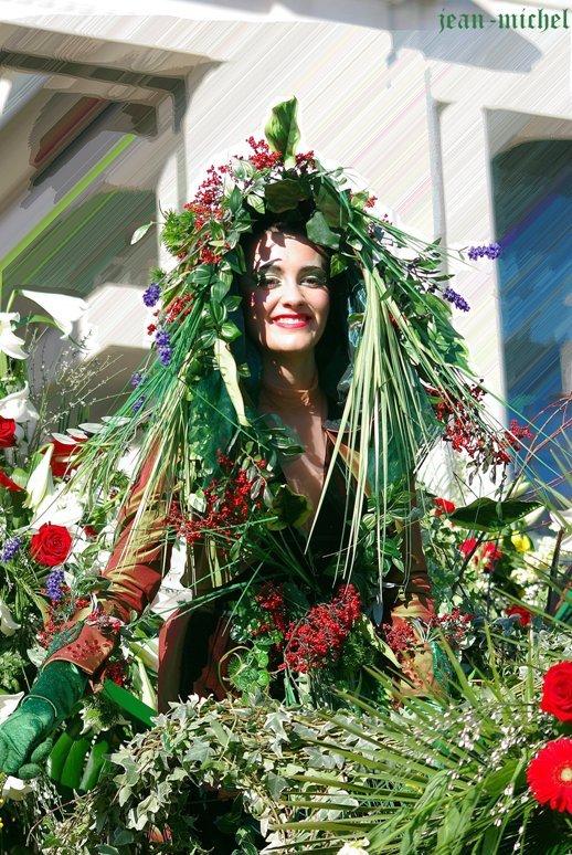 La déesse des fleurs